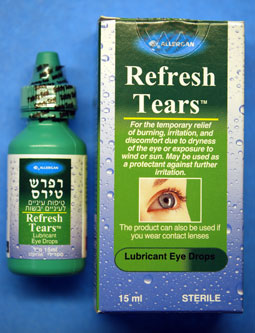 What are some eyedrops for glaucoma?