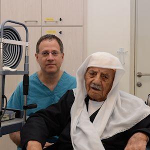 Renewed Eyesight at 102 Years